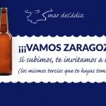 Mar de Cádiz con el Real Zaragoza