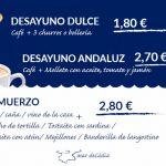 Nuestros desayunos y almuerzos Mar de Cádiz