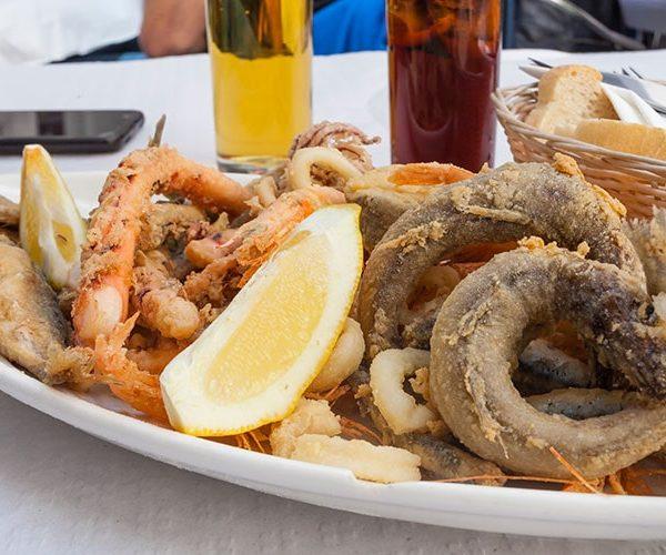 El mejor pescado frito